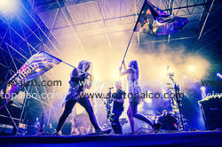 Foto concerto live Crystal Fighters TODAYS Torino, 26 27 28 agosto